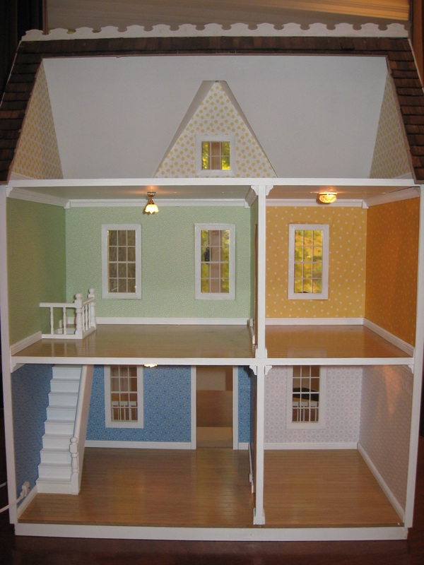 Dollhouse lighting little darlings dollhouses for Doll house lighting